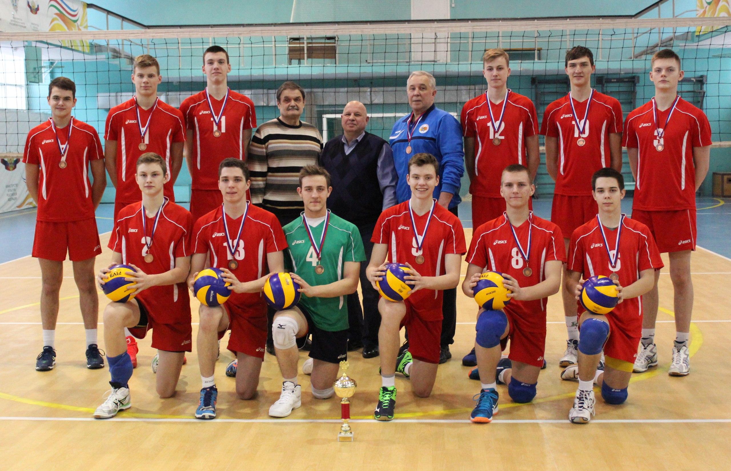 Бронза на Первенстве России по волейболу
