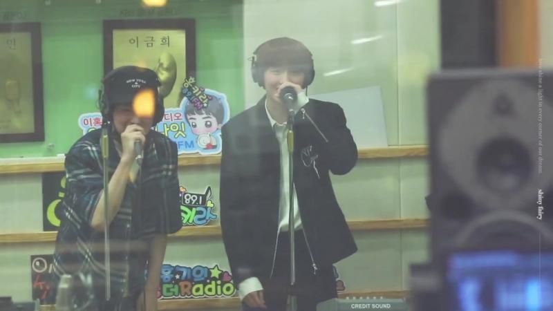 [FANCAM] 170724 Чани и Давон (2ne1 i`m the best) @ KBS Lee HongKi Kiss The Radio