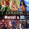GOLDEN Marvel&DC