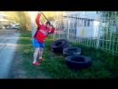 Кувалда 17 кг тренировка мощного удара!