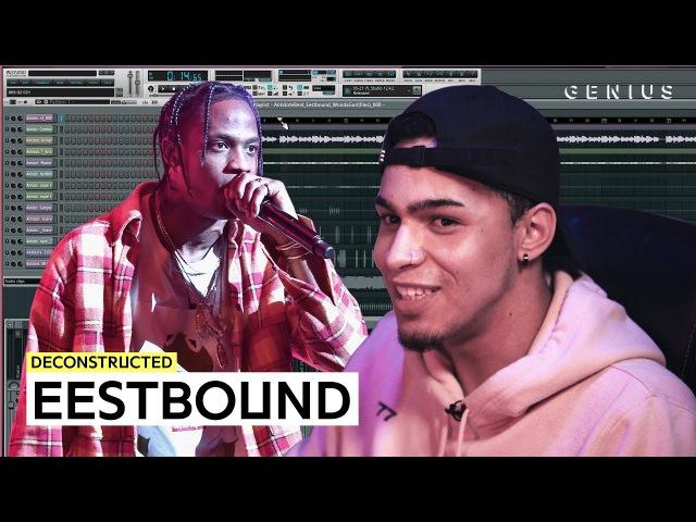Создание трека Travi$ Scott «Antidote» с продюсером Eestbound
