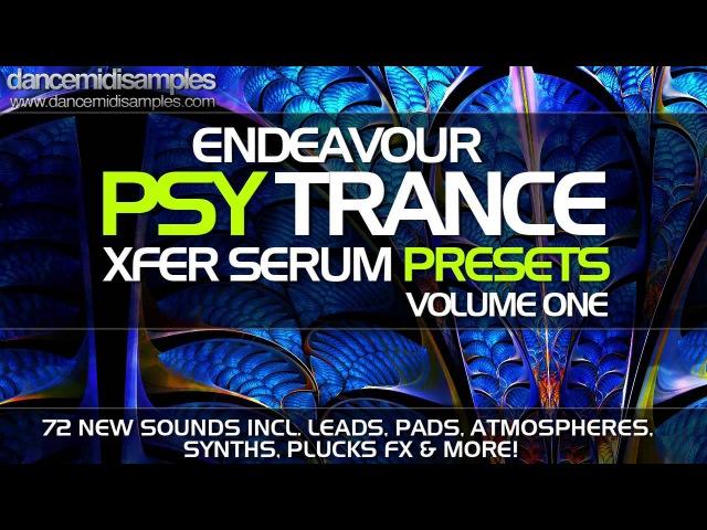 Xfer Serum Presets - Endeavour Psytrance Volume 1