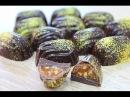 Корпусные Шоколадные Конфеты с Золотом Chocolate Bonbons with Gold