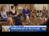 Big Little Lies Interview with Reese Witherspoon, Nicole Kidman, Shailene Woodley, Zoe K.&amp Laura D.