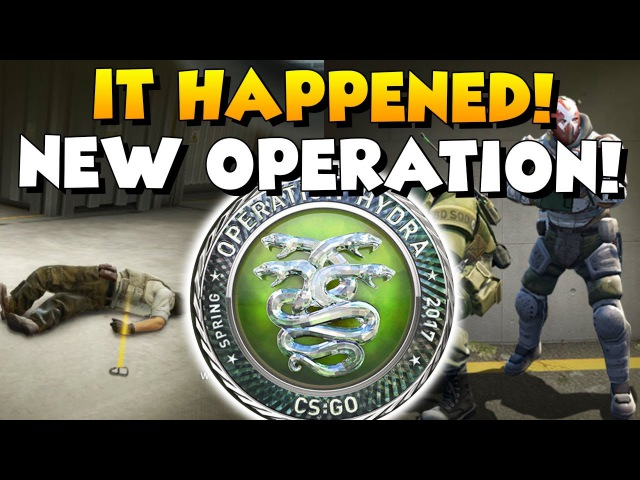 CS:GO - OPERATION HYDRA IS HERE! What's New? :)