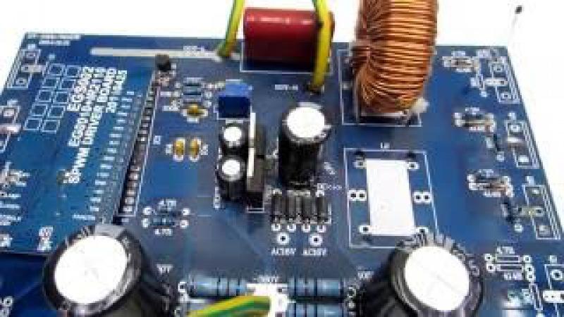 Подробный тест преобразователя 12-220/380V