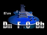 Clean Guitar Soft Rock Backing Track D minor