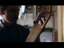 Лирообразные древнерусские гусли с жильными струнами