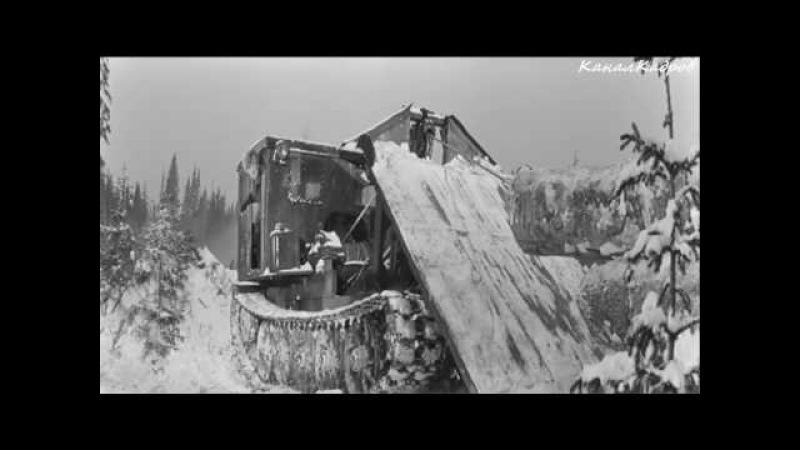 АТЗ ТДТ-60, трактор-гусеничный-трелевочный из к/ф