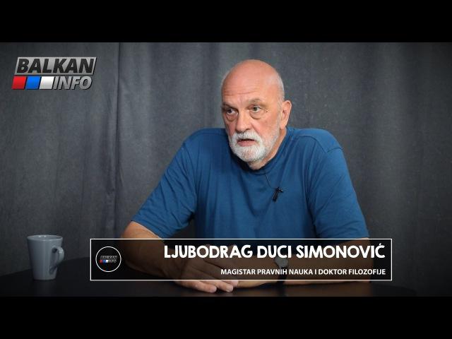 INTERVJU: Duci Simonović - Vučić i polupismeni idioti oko njega vode Srbiju u propast! (07.08.2016)