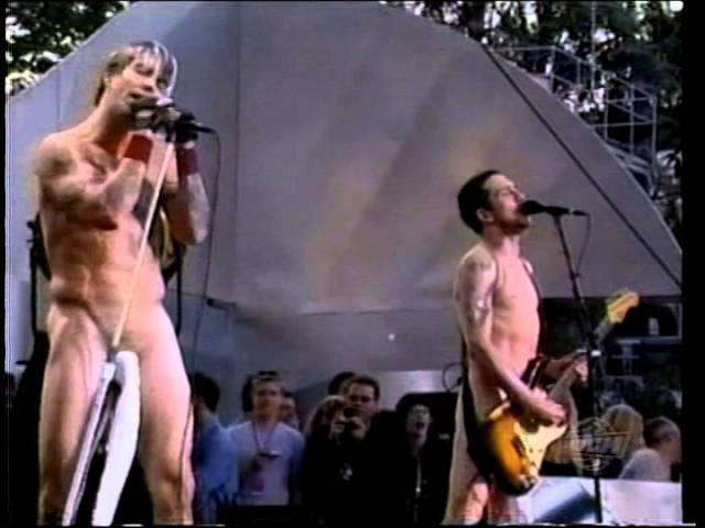 Red Hot Chili Peppers London Calling Right On Time Live Experience Music Project USA 2000