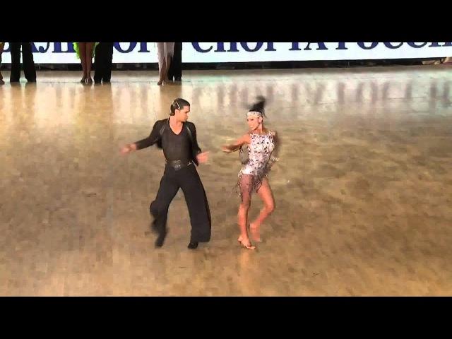 2013 Final GrandSlam Latin Moscow - Aniello Langella Khrystina Moshenska - Honor Dance - Jive