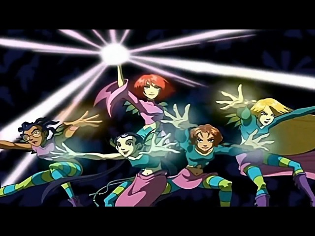 W.I.T.C.H. opening Power Rangers Mystic Force Style