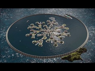 Plans for world's first 'floating city' unveiled