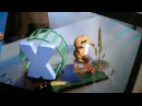 3D Живая азбука в дополненной реальности с наклейками, Devar Kids