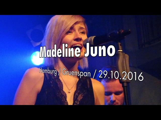 Madeline Juno Live 2016 Hamburg Gruenspan The Unknown Waldbrand Support Benoby