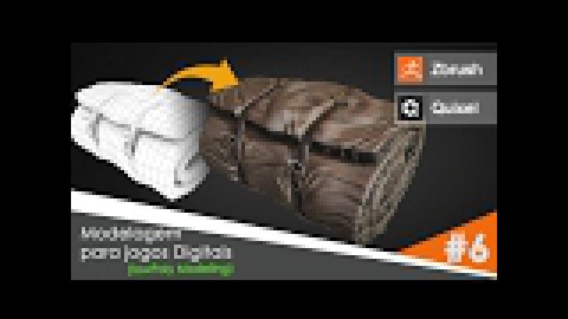 Tutorial Zbrush e Quixel | Processo de Modelagem para Jogos Digitais - Parte 06