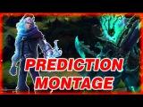 PREDICTION MONTAGE - Epic PREDICTIONS MOMENTS  League Of Legends