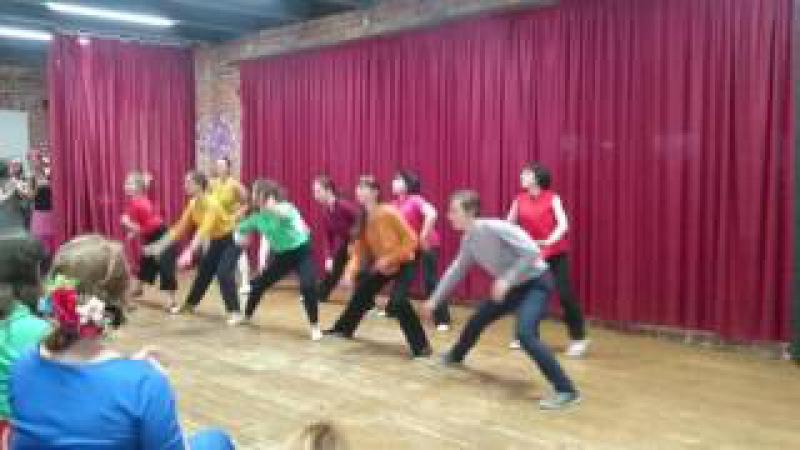 Dancing Company отчётный концерт 2017: Solo Jazz Лена Калинина и Ко