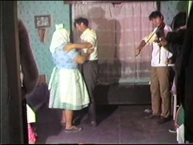 Visai (Mezőség) férfi és páros táncok: Kis Sándor 1985 (Hungarian dances from Visa - Transylvania)