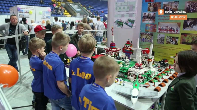 У Києві відбувся ІХ всеукраїнський фестиваль робототехніки Robotica 2017