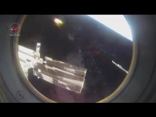 Отстыковка от Международной космической станции