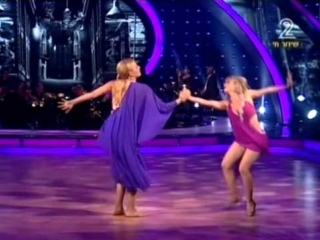 Divos studio | лесби танго | dancing with the stars (israel 2011) - first lesbian duo (2nd dance + results) with pam anderson