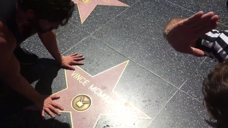 Laura James pins Vince McMahon Star on Hollywood Walk of Fame to win DDT Pro Wrestling Ironman Title