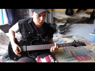 Within Temptation Its the Fear (Guitar Cover)