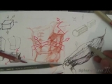 How to Draw Complex Forms _ Major minor planes like Michelangelo