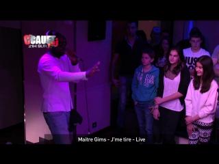 Maitre Gims - Jme tire - Live - CCauet sur NRJ
