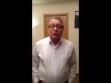 Актёр Геннадий Хазанов поздравляет Театр Антона Чехова