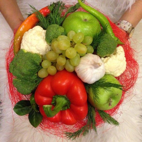 Букет из фруктов спб своими руками