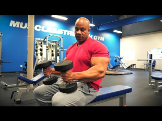 Chest Workout with Victor Martinez