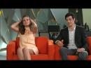 Матеус Солано и Камила Кейроз в программе Fantastico