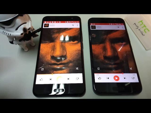 HTC U11 vs HTC 10 speaker comparison