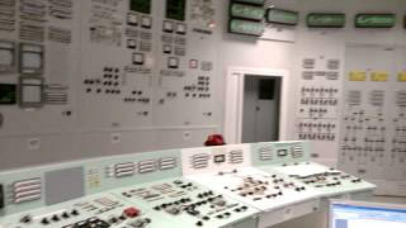 Блочный щит управления АЭС с реактором РБМК-1000