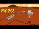 Как сделать портал на марс в Minecraft Без Модов! Новый ландшафт и физика D