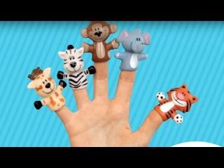 Песенки для детей - Мурашки - Пальчики - песня считалочка - учим пальчики