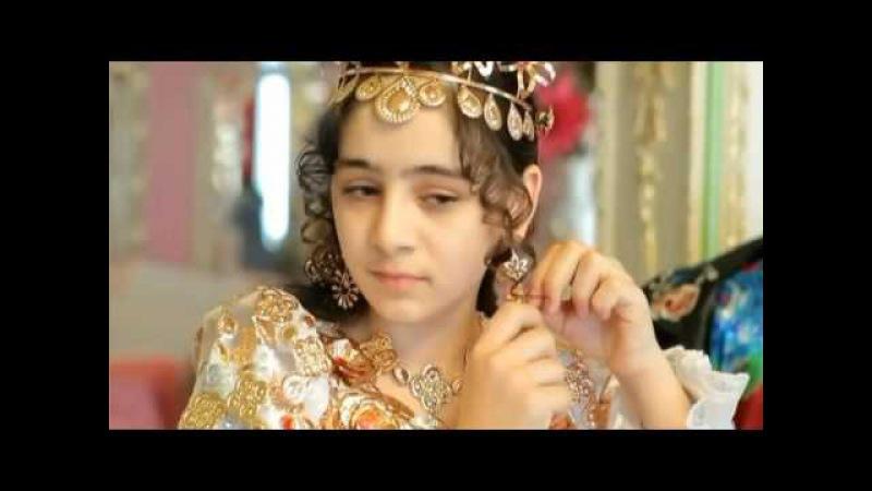 Цыганская богатая свадьба Фата и платье из золота