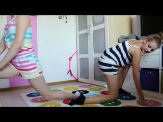 Девчата гимнастки ЙОГА ВЫЗОВ