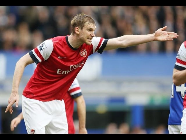 Per Mertesacker Arsenal's Most Important Player 2013 14