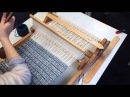 Weaving with Pick up stick on Rigid heddle loom