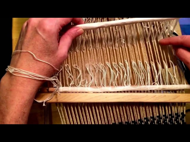 4 Shaft Weaving on a Rigid Heddle Loom