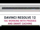 DaVinci Resolve 12 - 10c Working with Proxies and Smart Caching