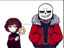 Underfell Sans x frisk ~ Monster