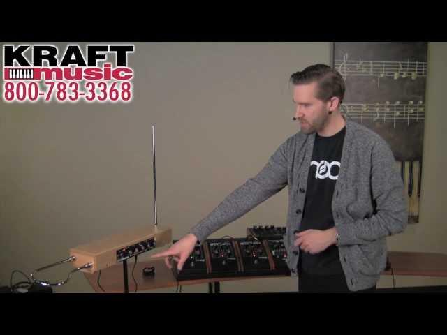 Kraft Music - Moog Etherwave Thermin Demo with Jake Widgeon
