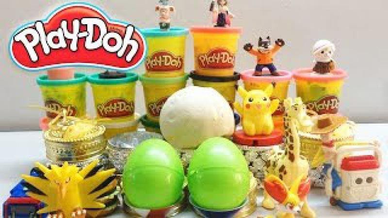 Play-Doh Surprise Eggs Video | Play Doh Surprise Balls | Egg Surprise Toys For Kids Videos.