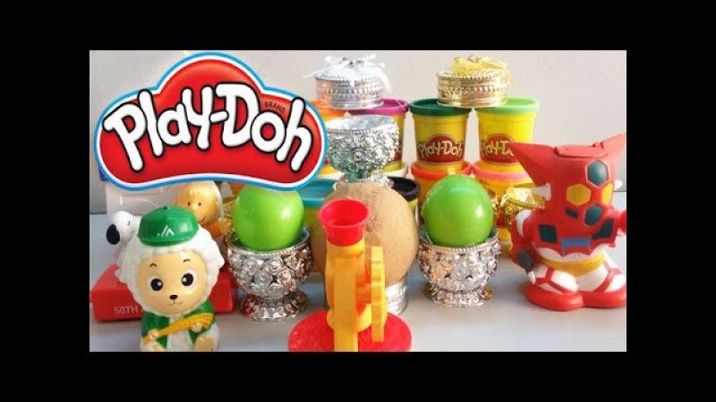 Play Doh Surprise Eggs Videos | Play-Doh Surprise Balls | Egg Surprise Toys Videos For Kids.