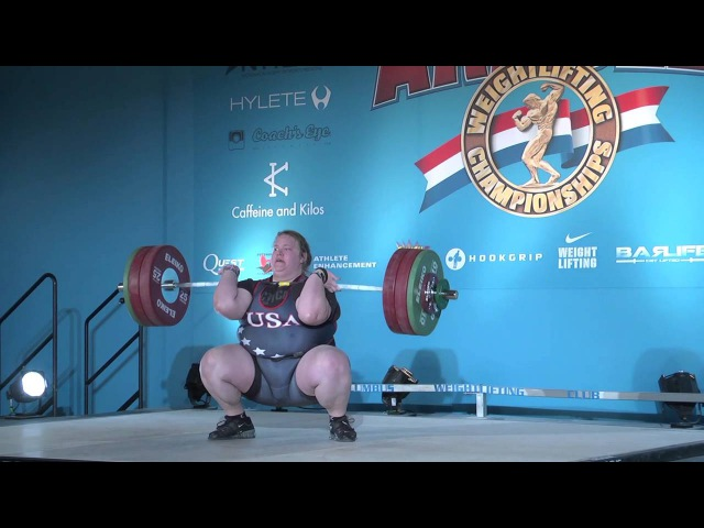 Holley Mangold competes at the Arnold